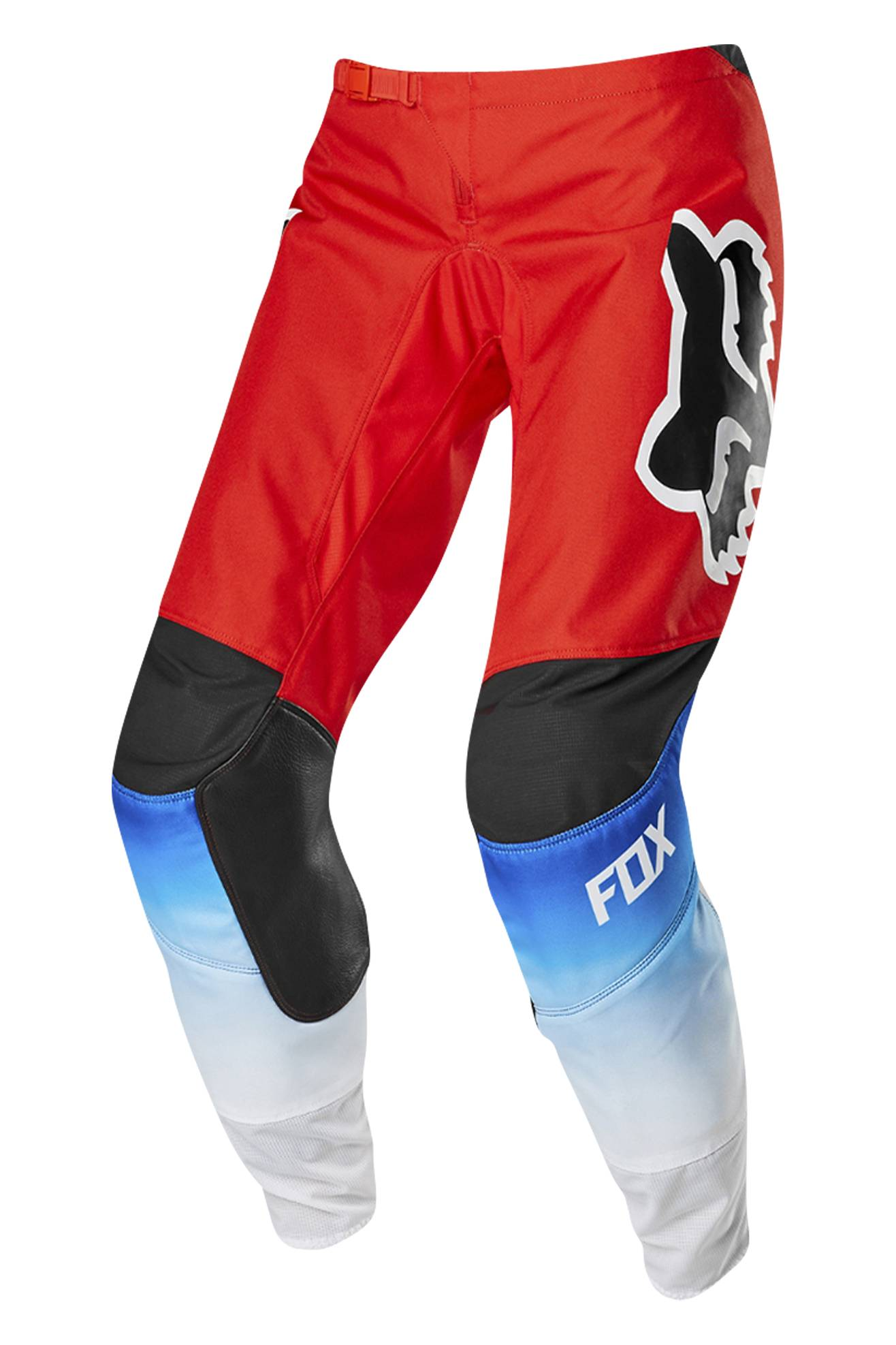 FOX Pantaloni Cross Donna  Racing 180 Fyce Blu-Rosso