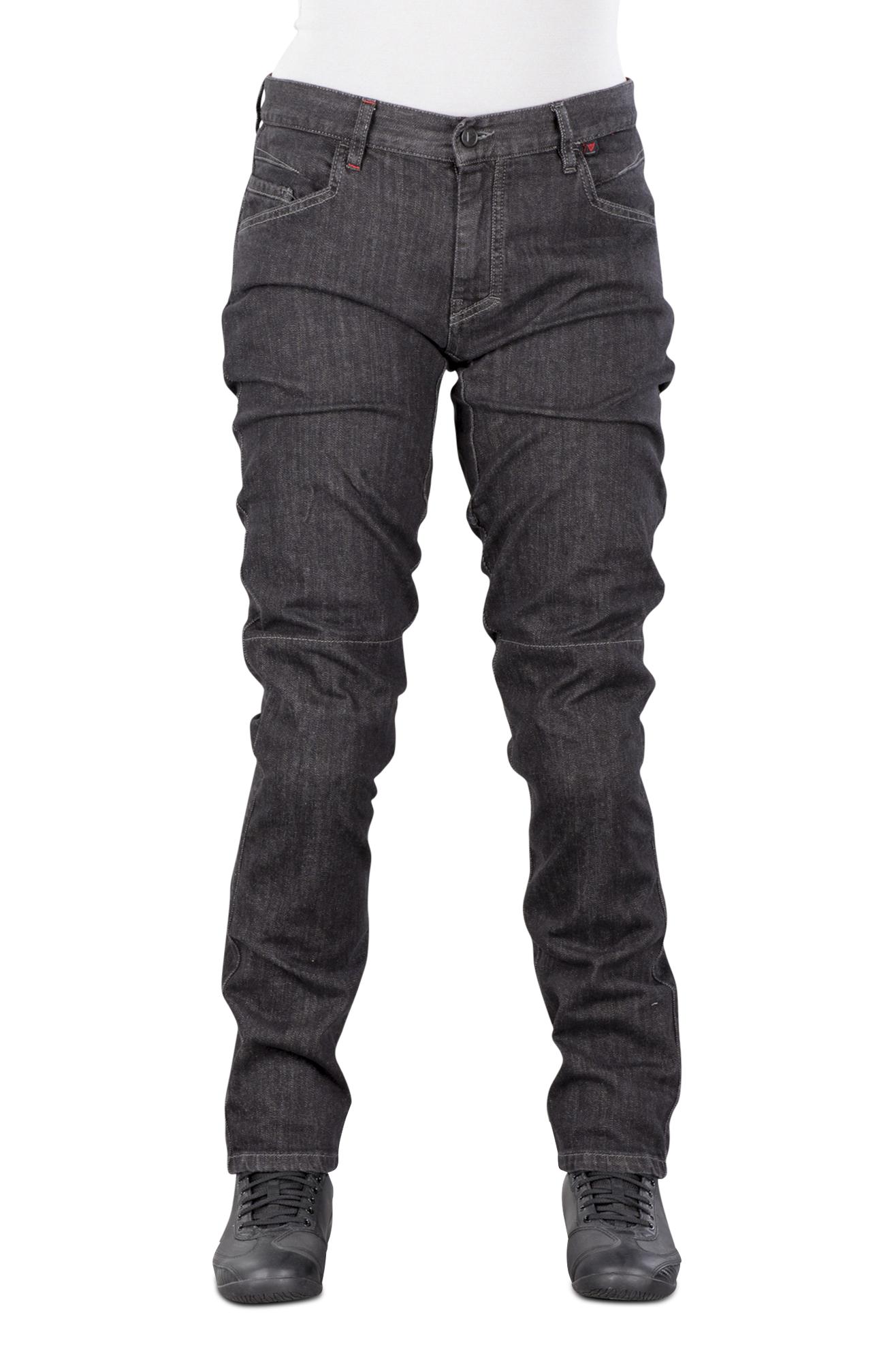 Dainese Jeans Moto Donna  Alba Slim-Fit Nero-Rinsed