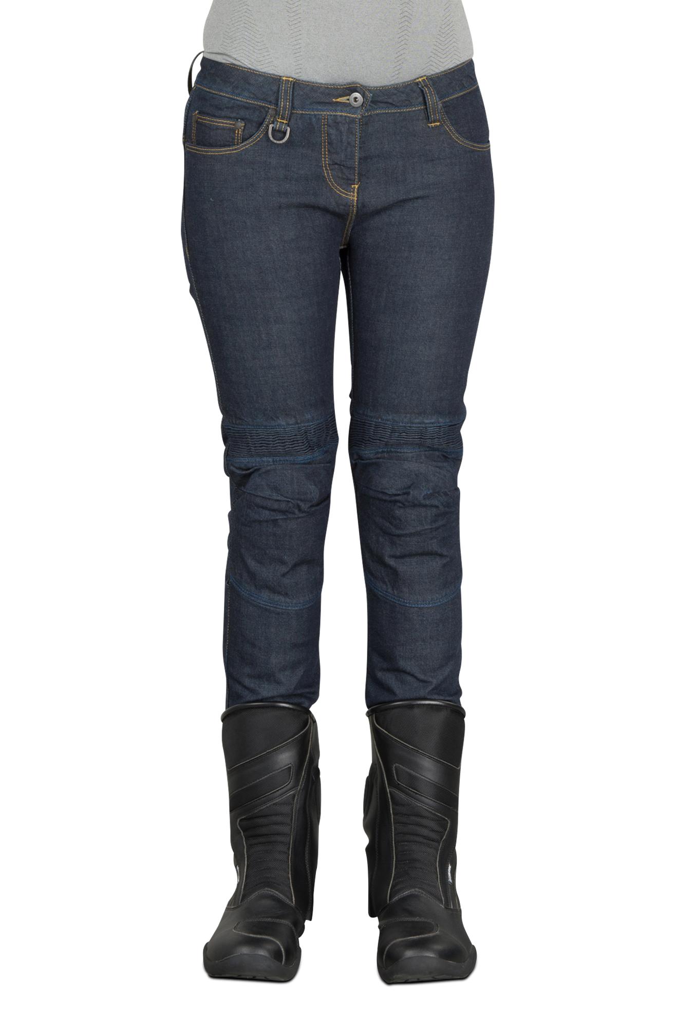 Spidi Jeans Donna  J&Racing Nero-Blu