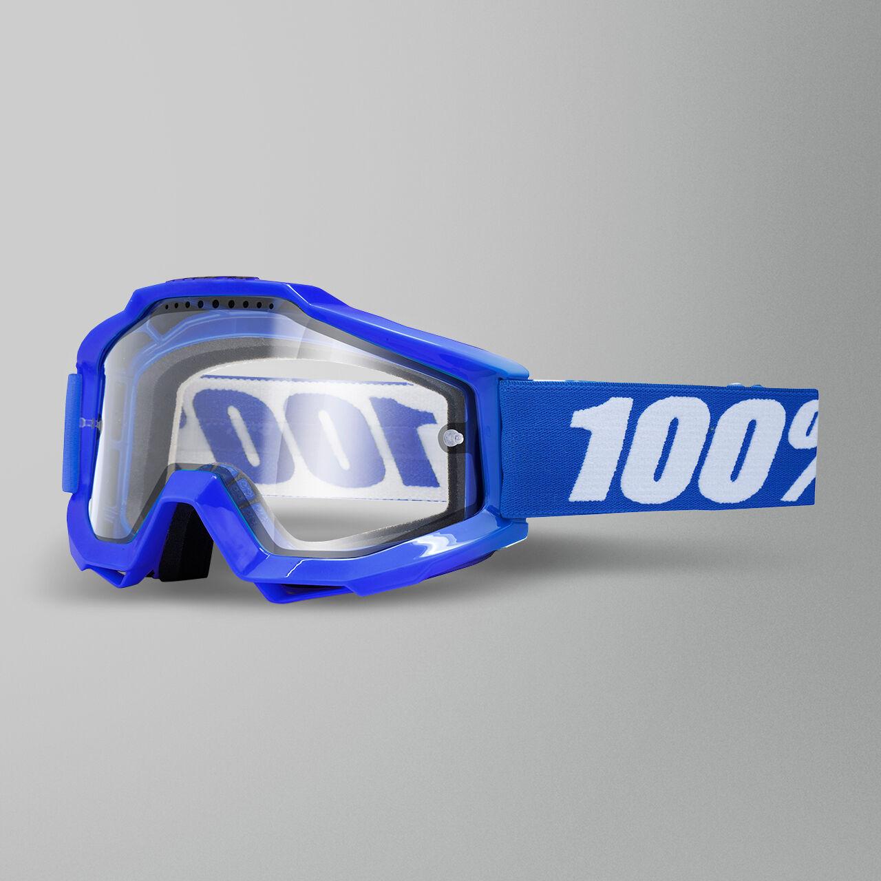 100% Maschera Cross  Accuri Enduro MTB Reflex Blu