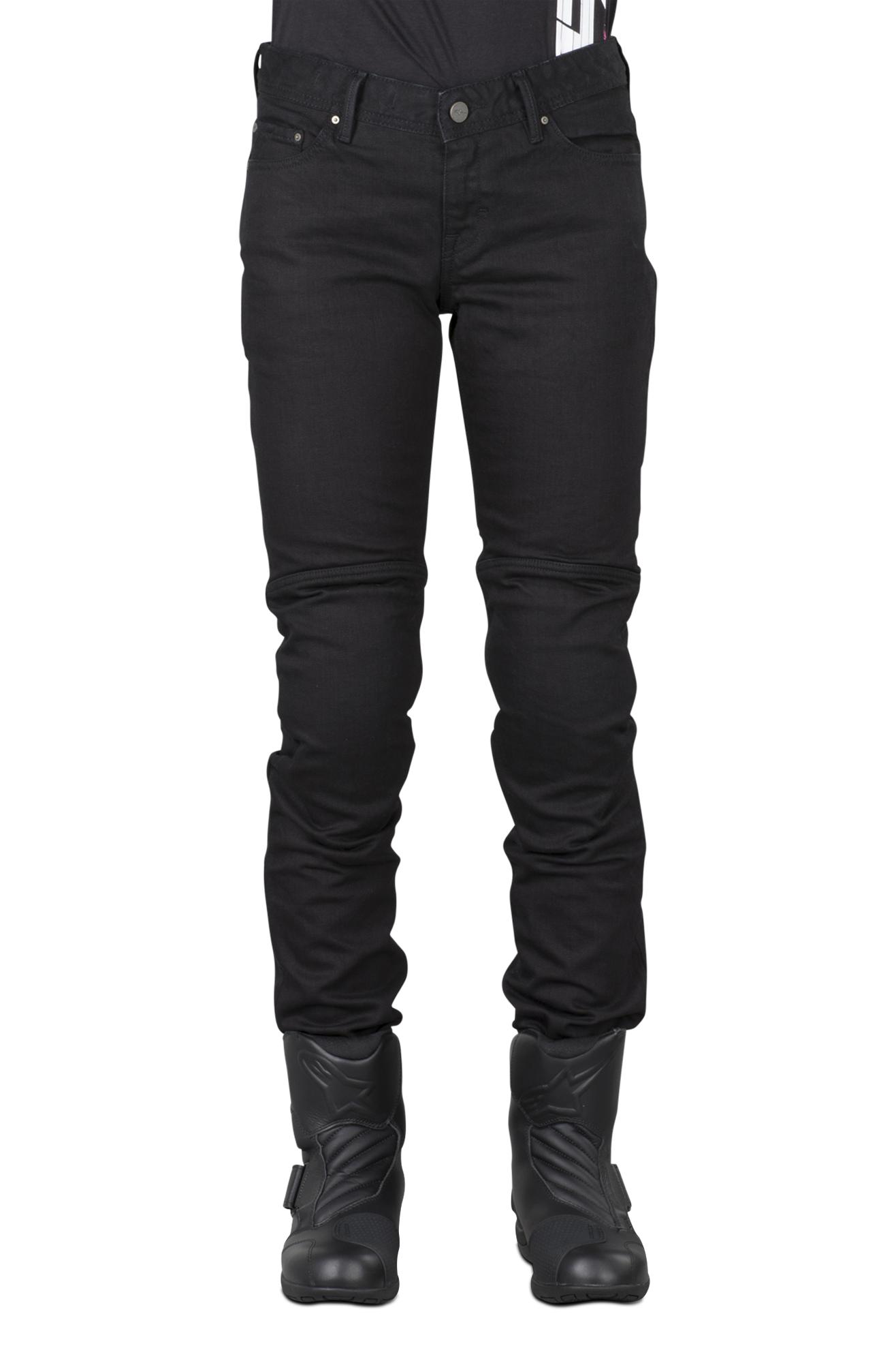 Alpinestars Jeans donna Daisy Nero