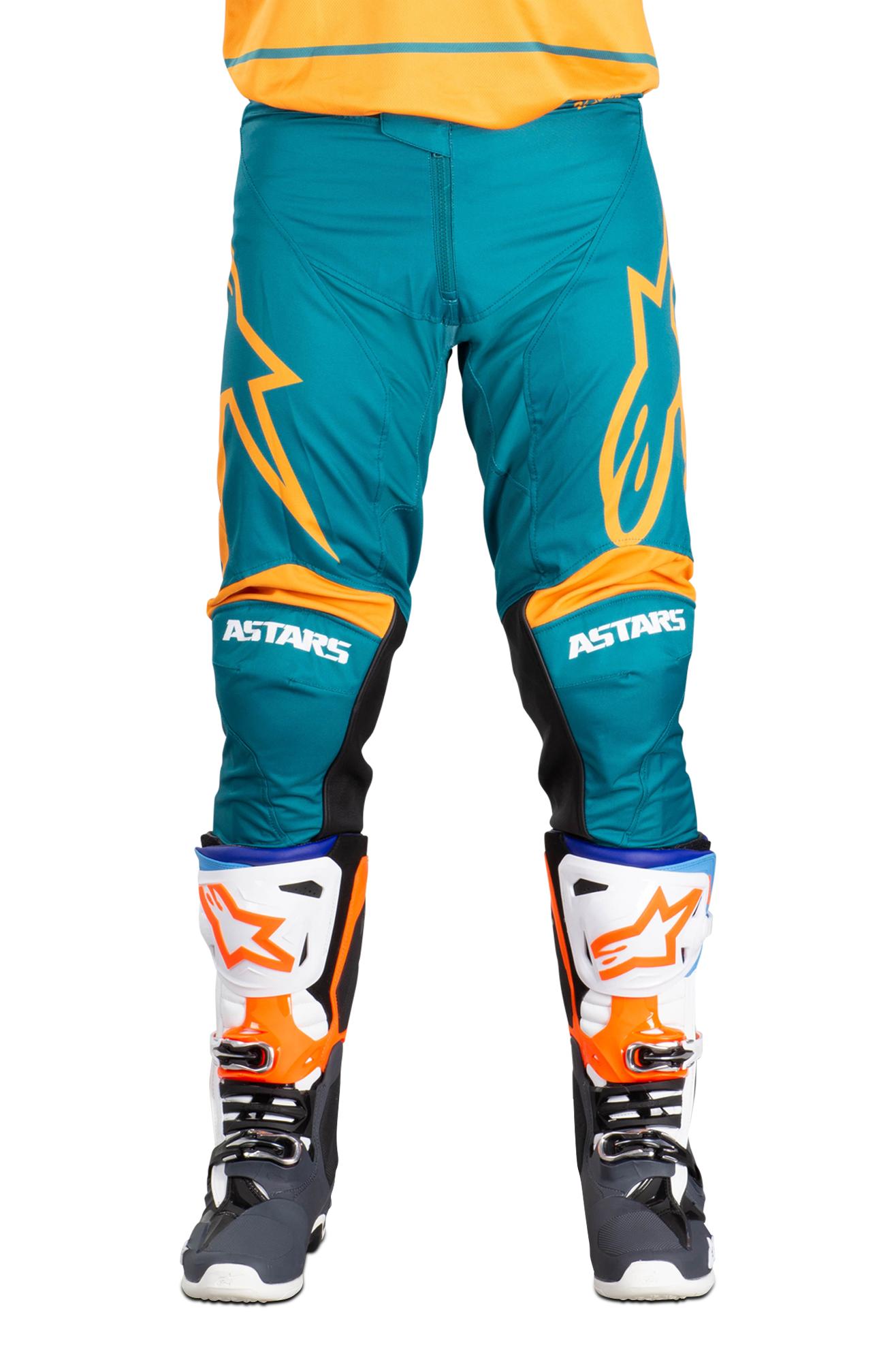 Alpinestars Pantaloni Cross  Racer Supermatic Nero-Arancio