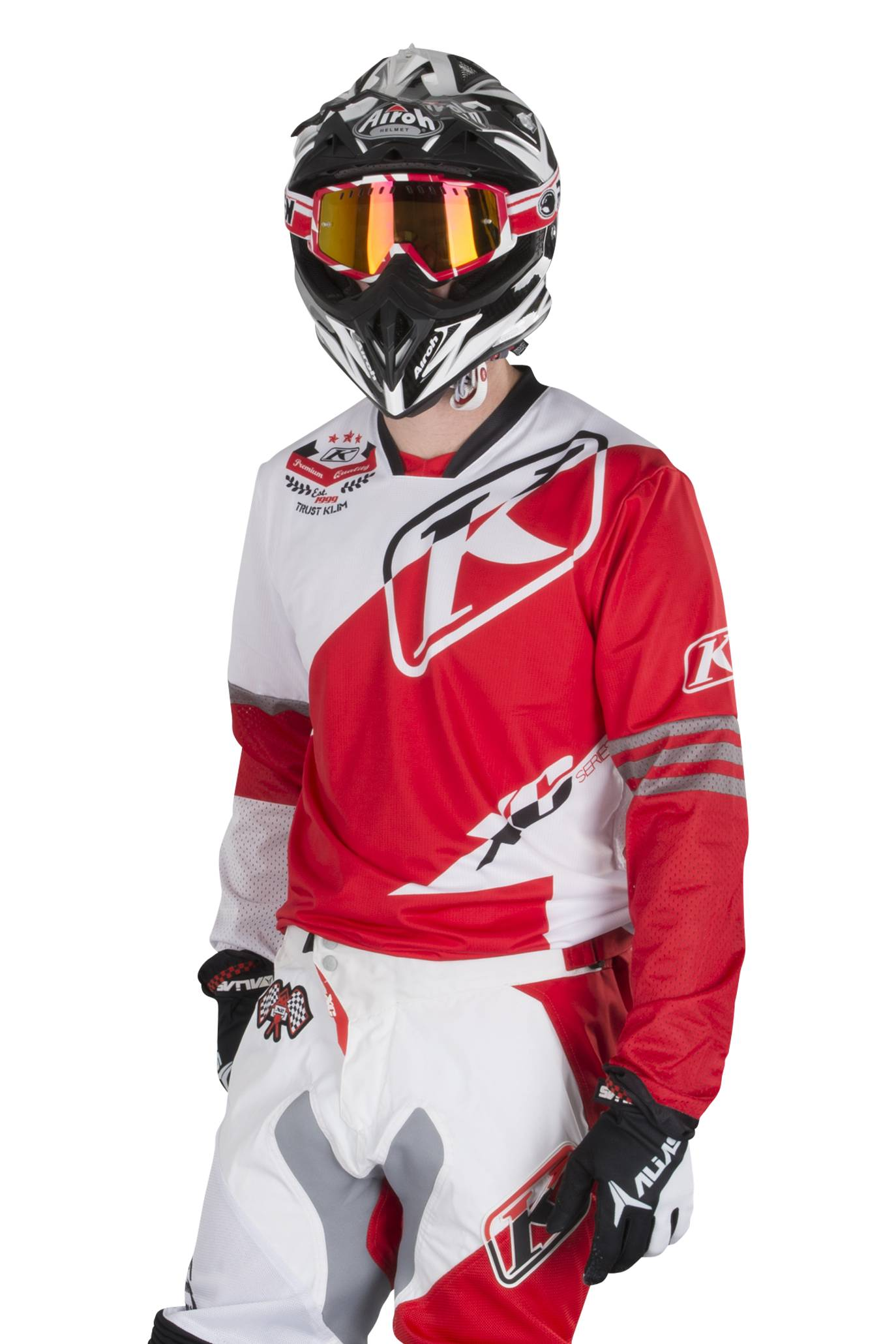 KLIM Maglia Enduro  XC Rosso