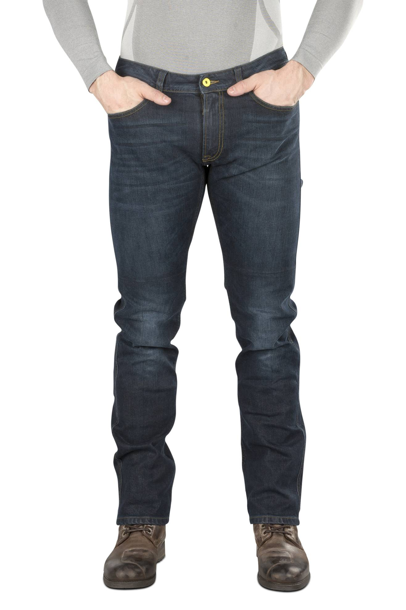 Spidi Jeans  Qualifier Blu Vintage 3D
