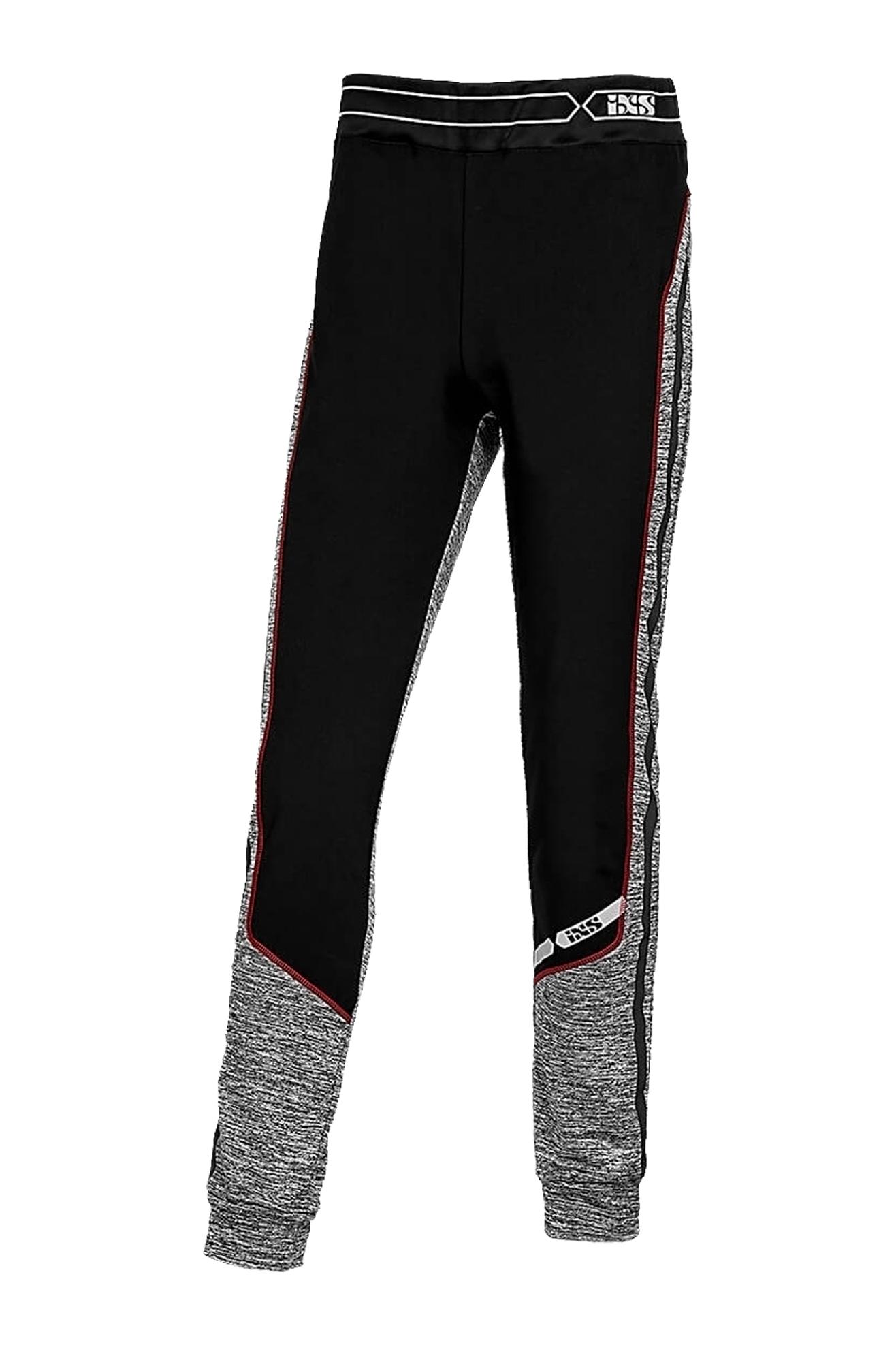 iXS Pantaloni Strato Intermedio  ICE Nero-Grigio-Rosso