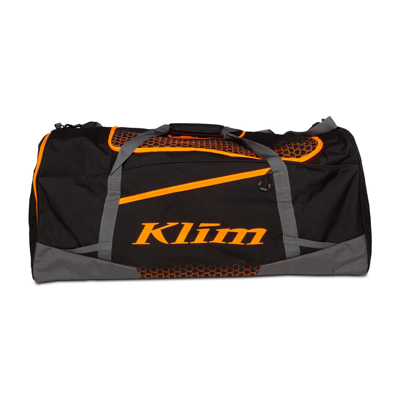 KLIM Borsone  Drift Nero-Arancio
