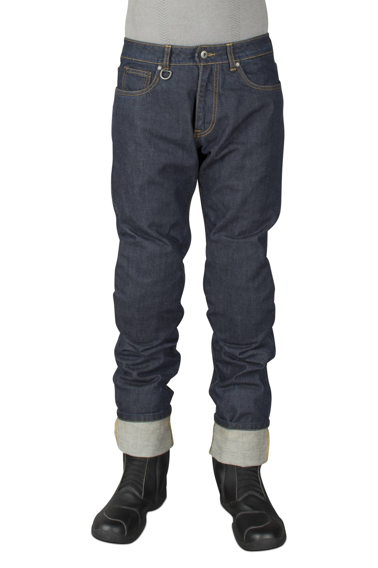 Spidi Jeans  J-Strong Nero-Blu