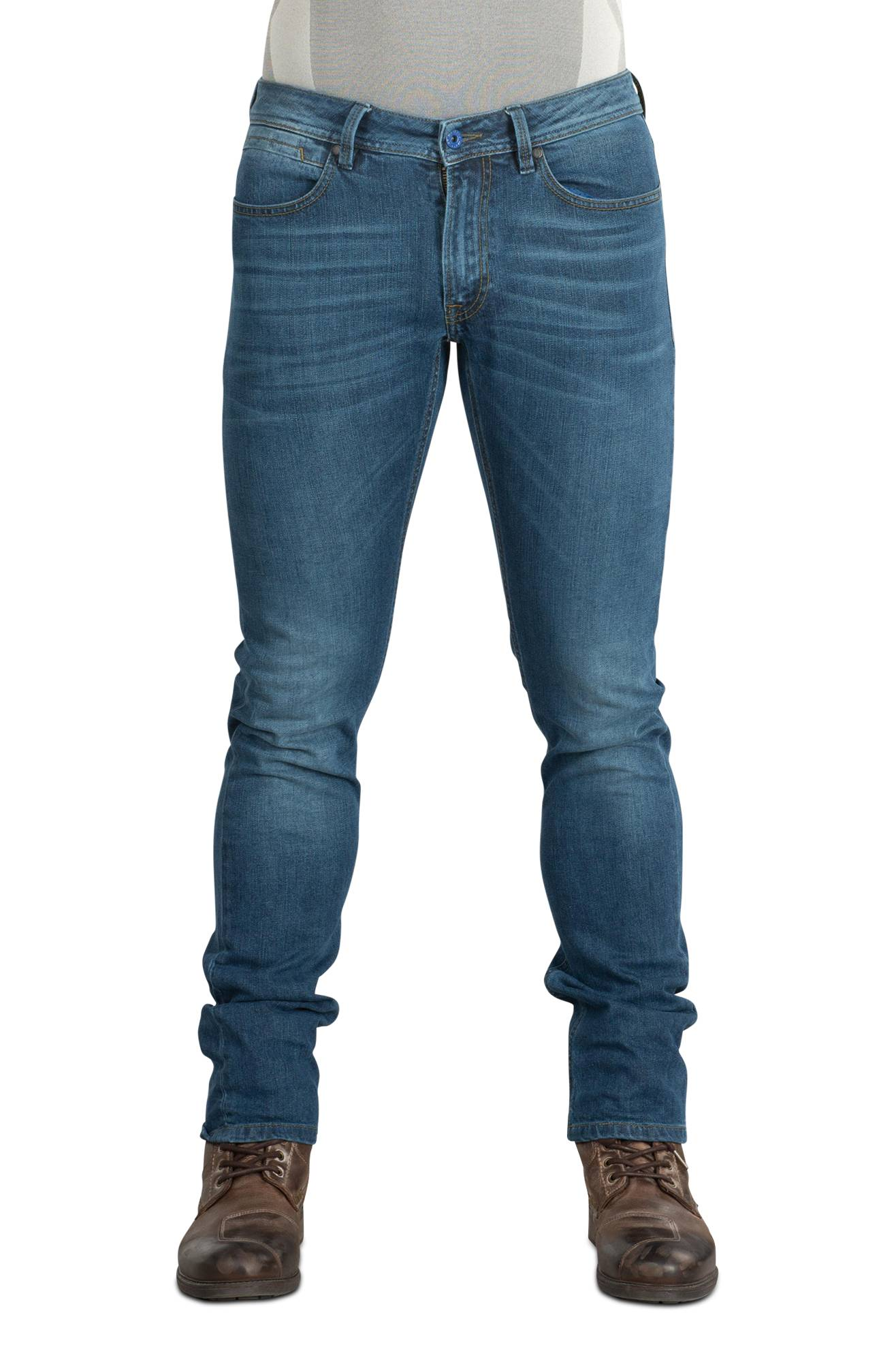 Spidi Jeans  Free Rider Slim Fit Blu