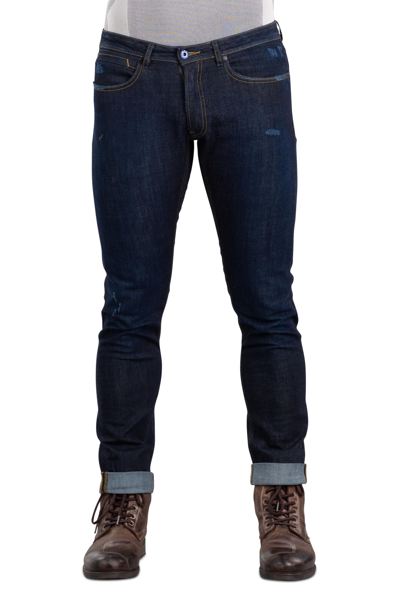 Spidi Jeans  Free Rider Slim Fit Vintage Blu