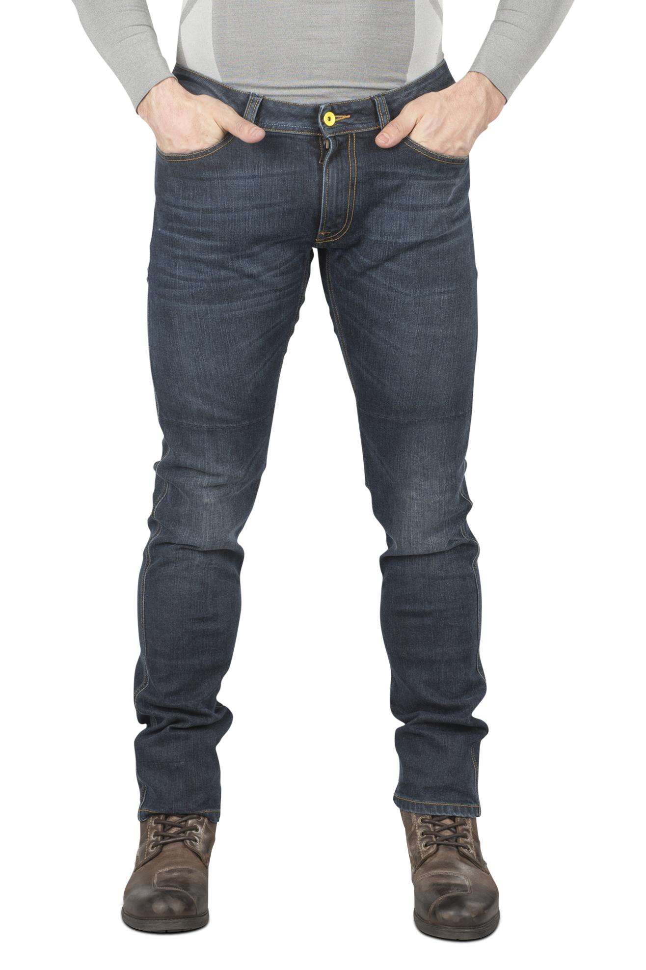 Spidi Jeans  Qualifier Slim Fit Blu Vintage 3D