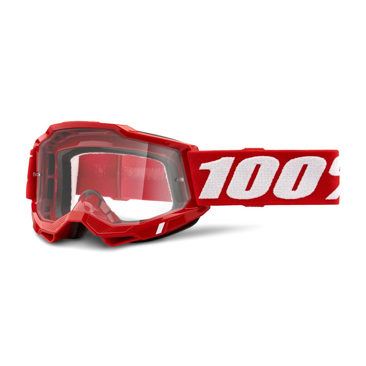100% Maschera Cross  Accuri 2 Rossa