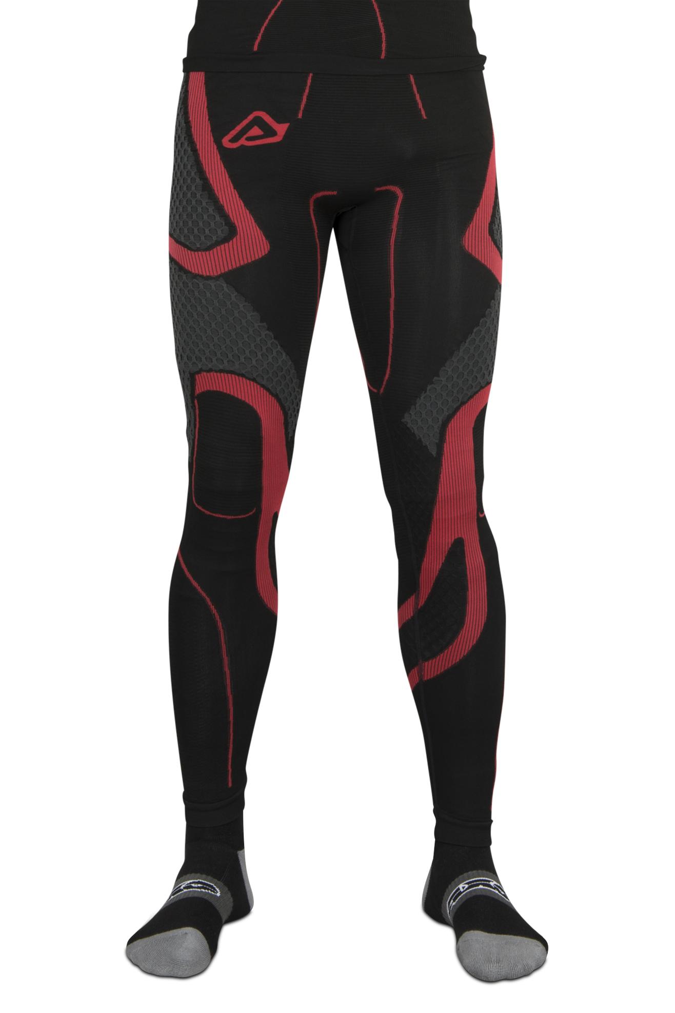 Acerbis Pantaloni Intimi X-Body Winter Nero-Rosso