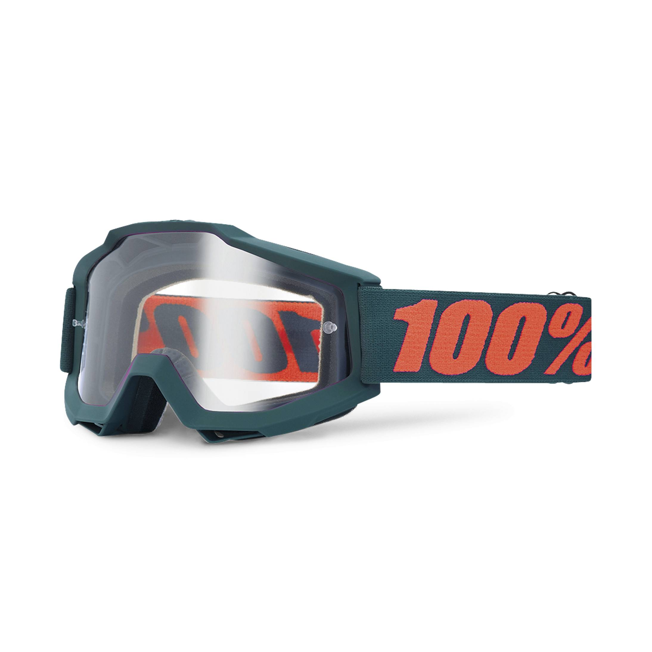 100% Maschera cross  Accuri OTG Gun Metal