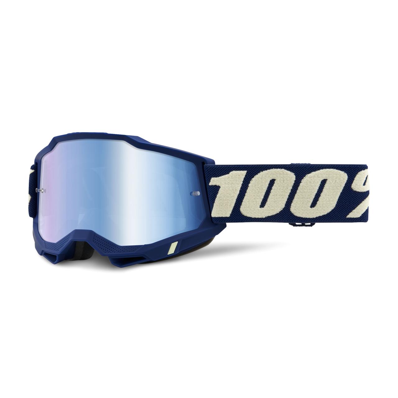 100% Maschera Cross  Accuri 2 Deepmarine Blu Scuro