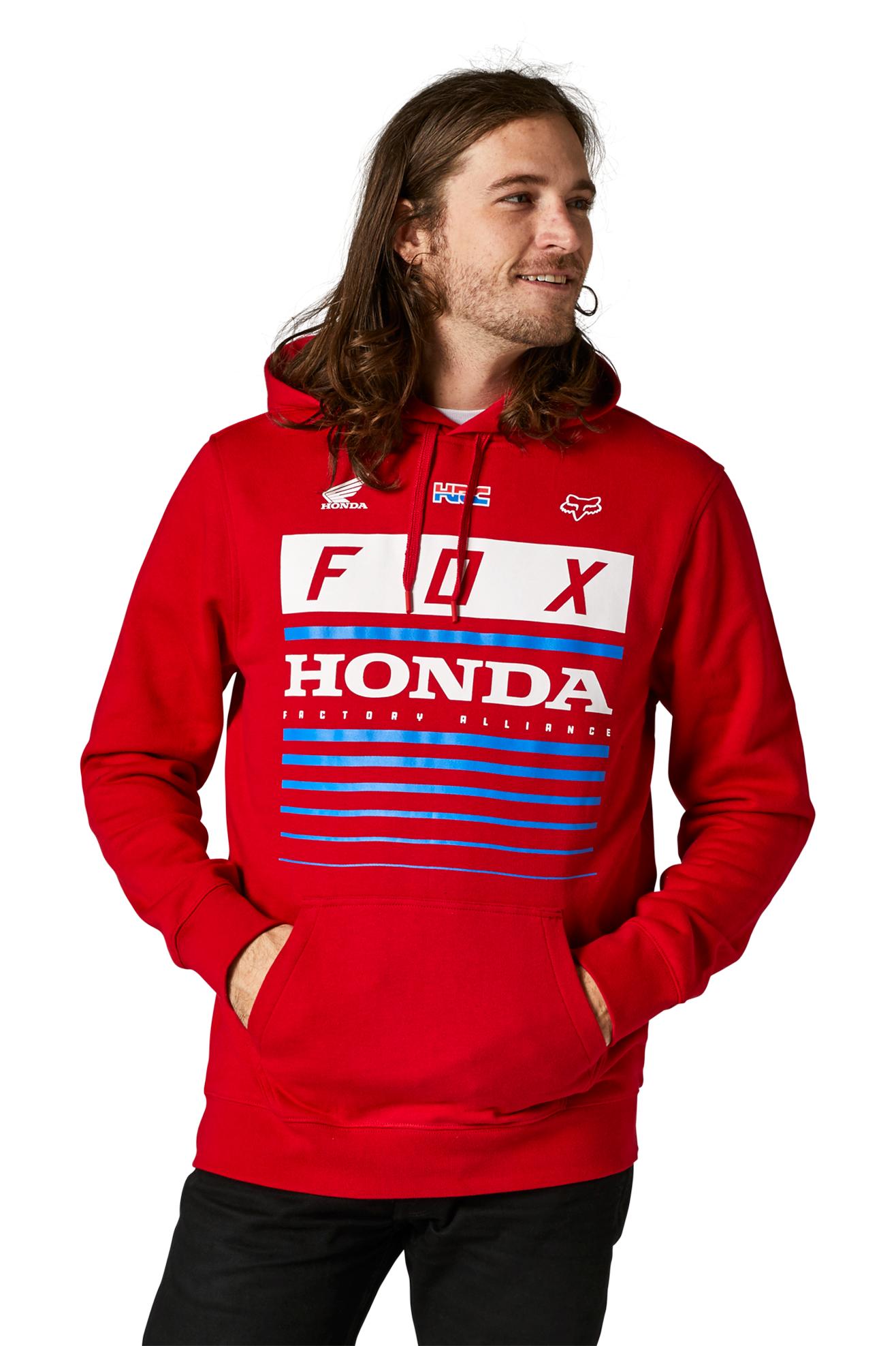 FOX Felpa  Racing Honda Rossa