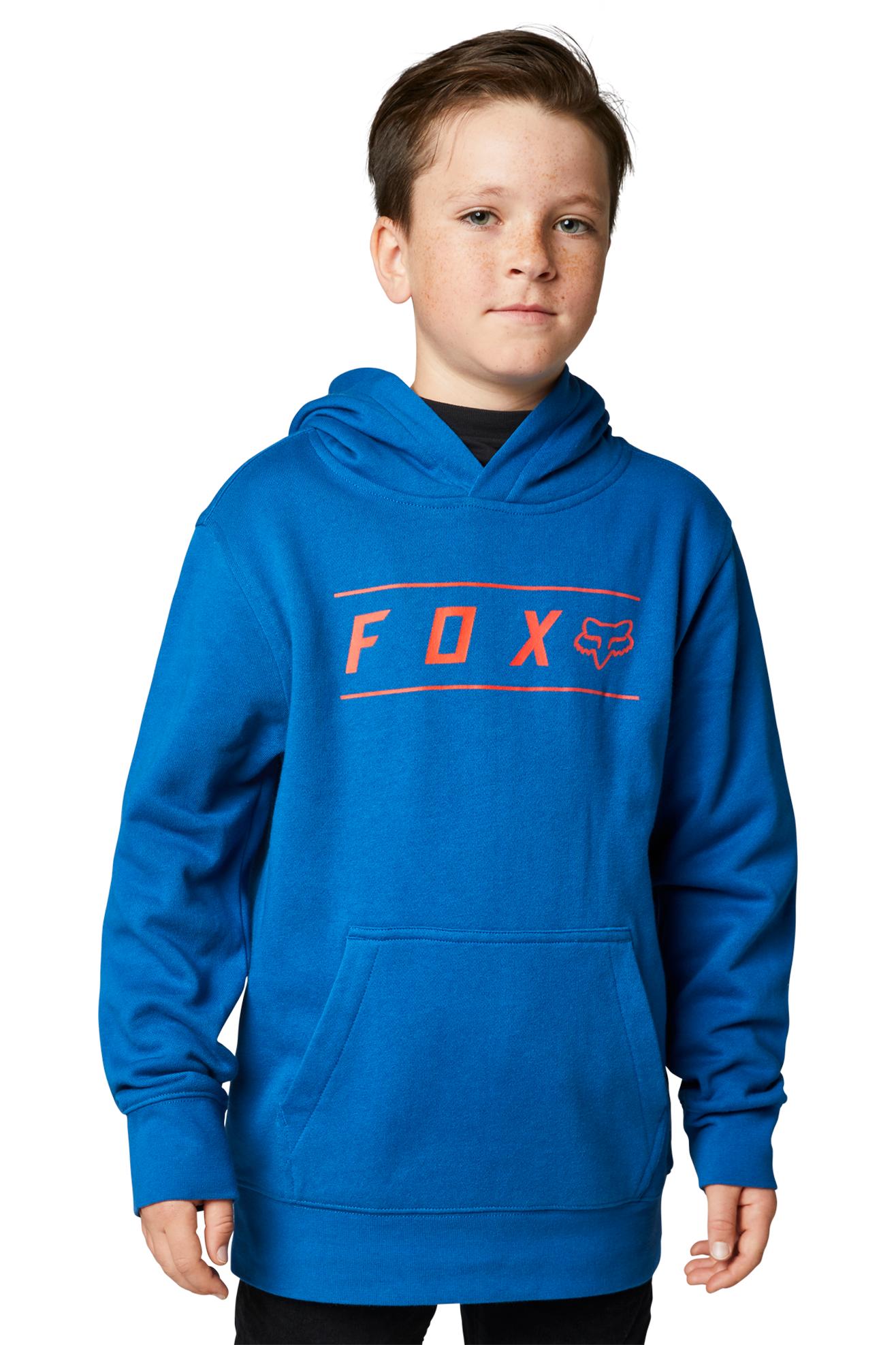 FOX Felpa Bambino  Racing Pinnacle PO Blu Royal