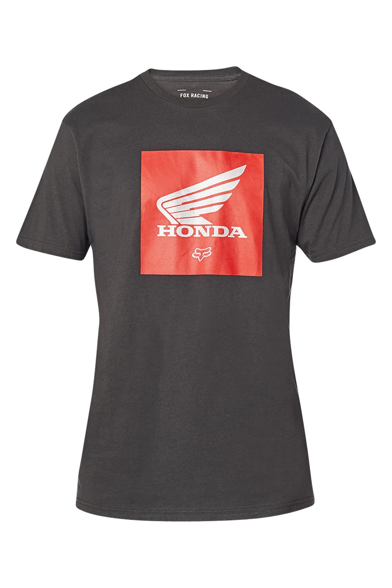 FOX T-Shirt  Racing Honda Premium Update Nera