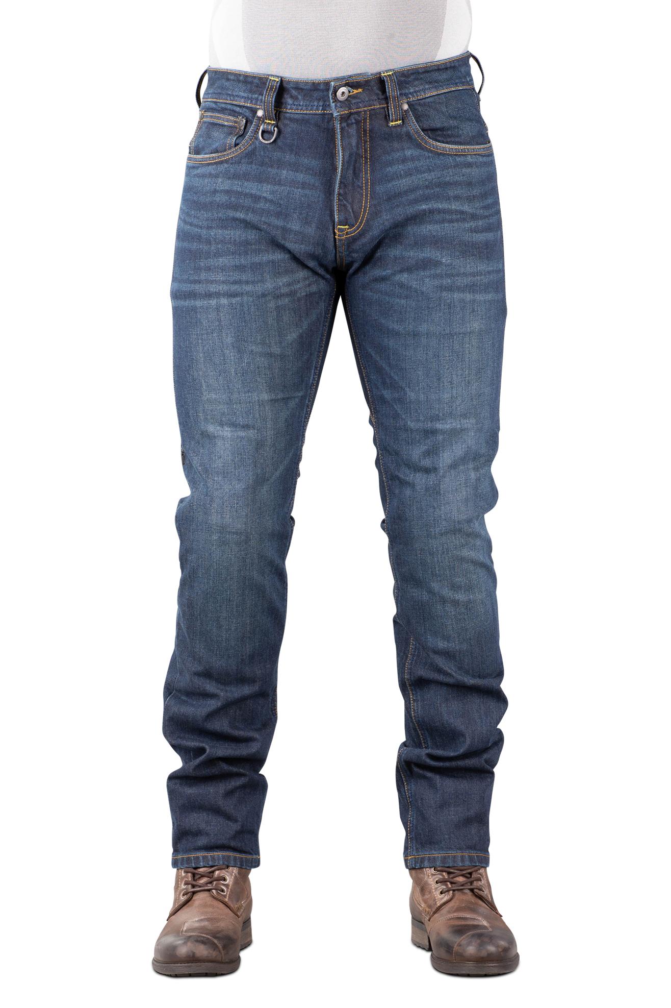 Spidi Jeans  J-Tracker Blu Scuro Lavato L32