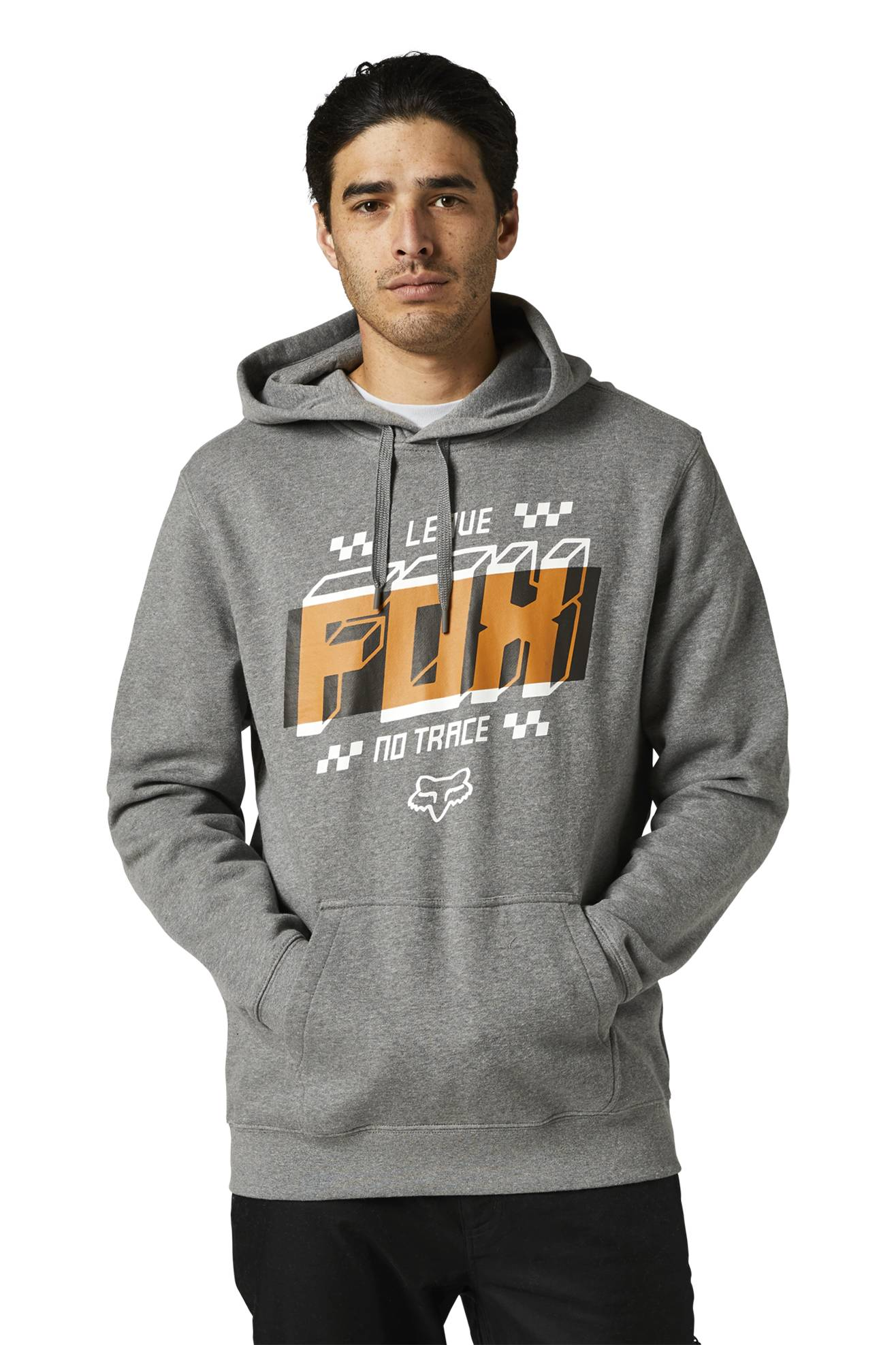 FOX Felpa  Racing Fullstop Pullover Grigia