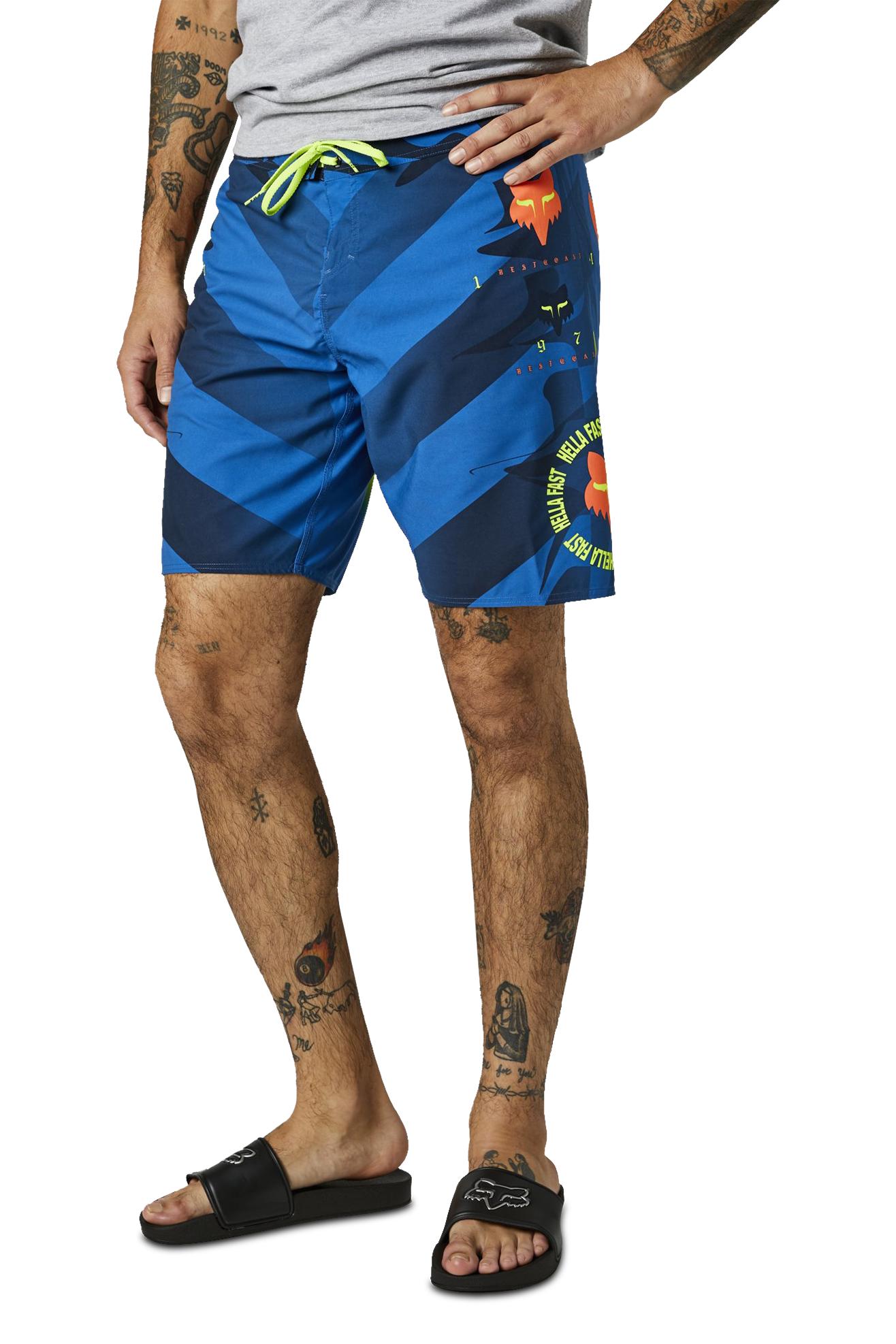 FOX Costume da Bagno Racing Mawlr Blu