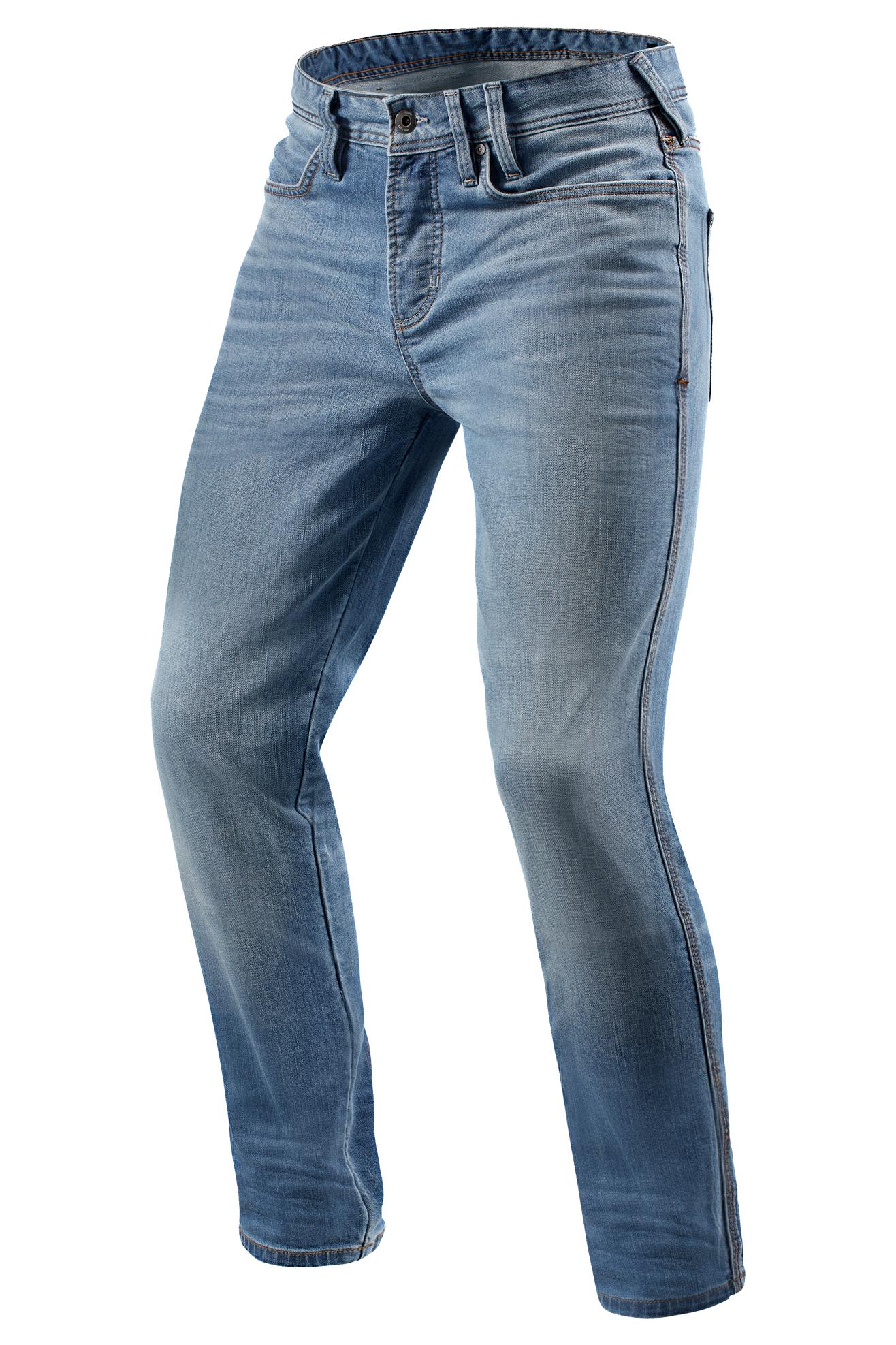 REV'IT! Jeans Moto Piston Azzurri