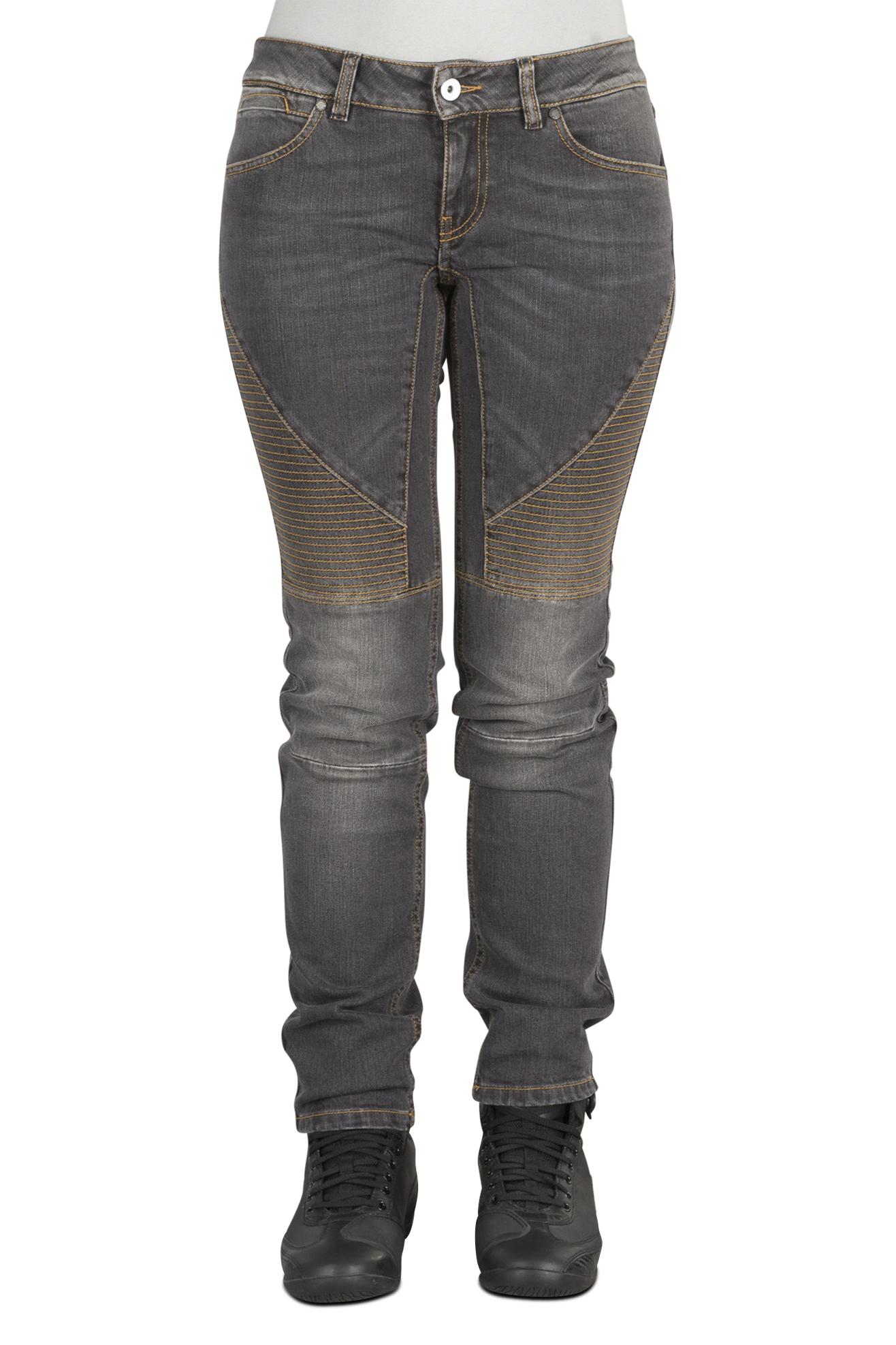spidi jeans donna  racer vintage 3d neri