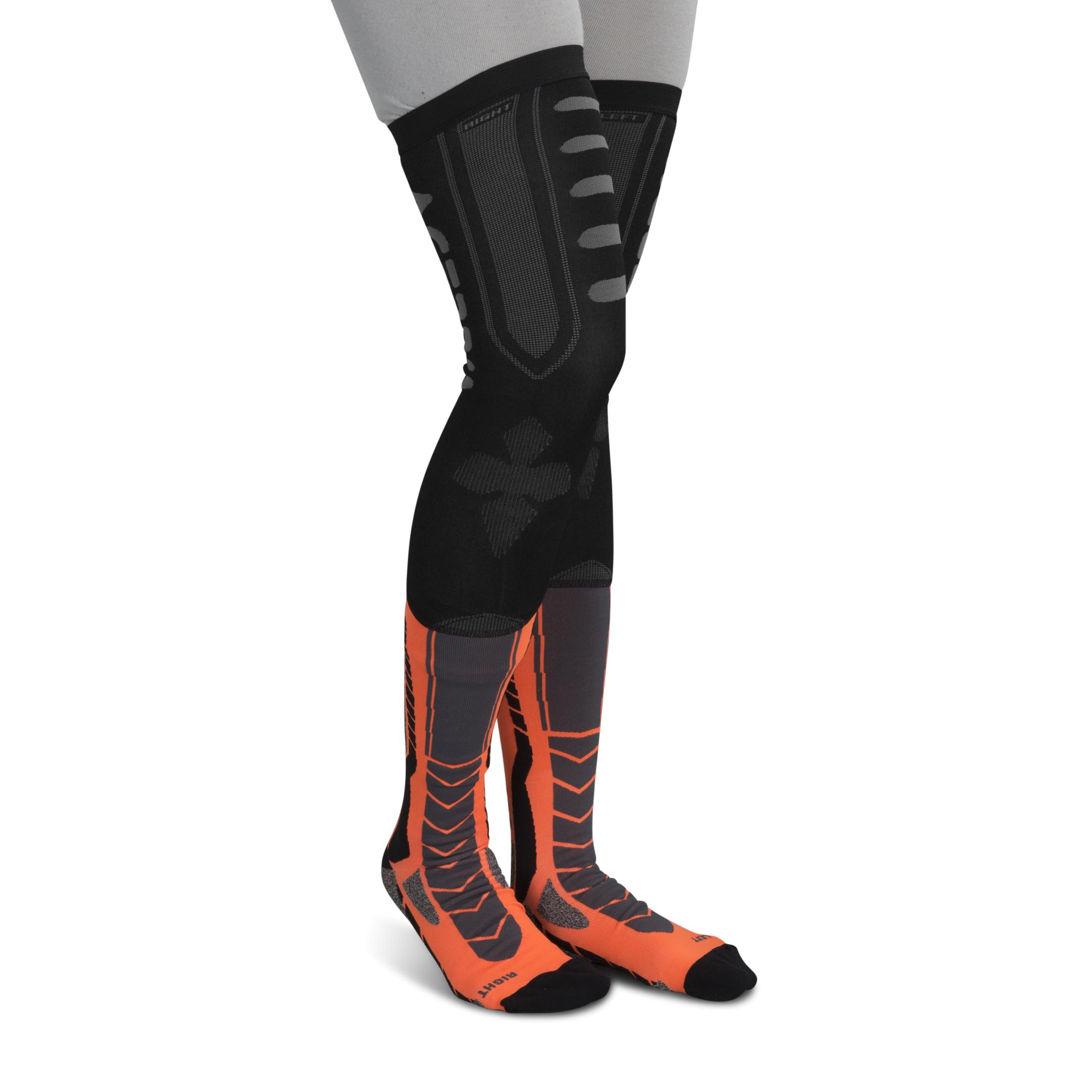Acerbis Calze  X-Leg Pro Nero-Arancio
