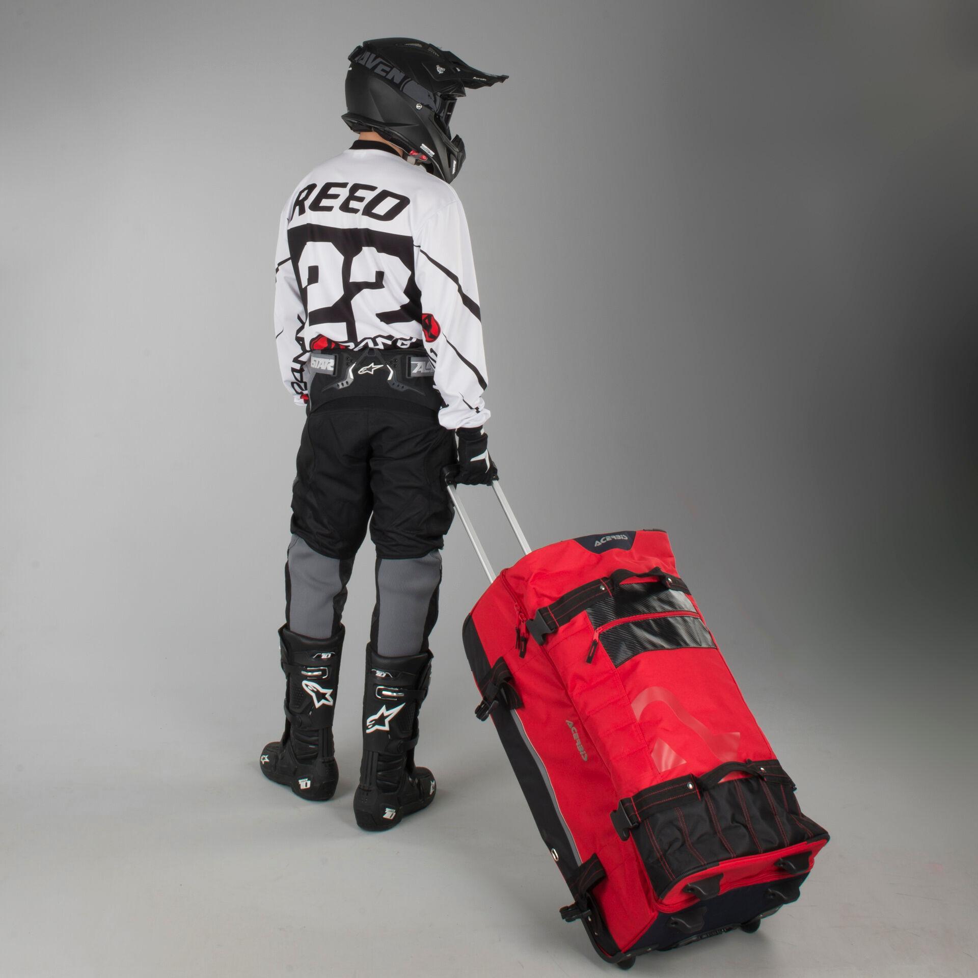 Acerbis Borsa  X-Trip GearBag 105 Litri Rosso
