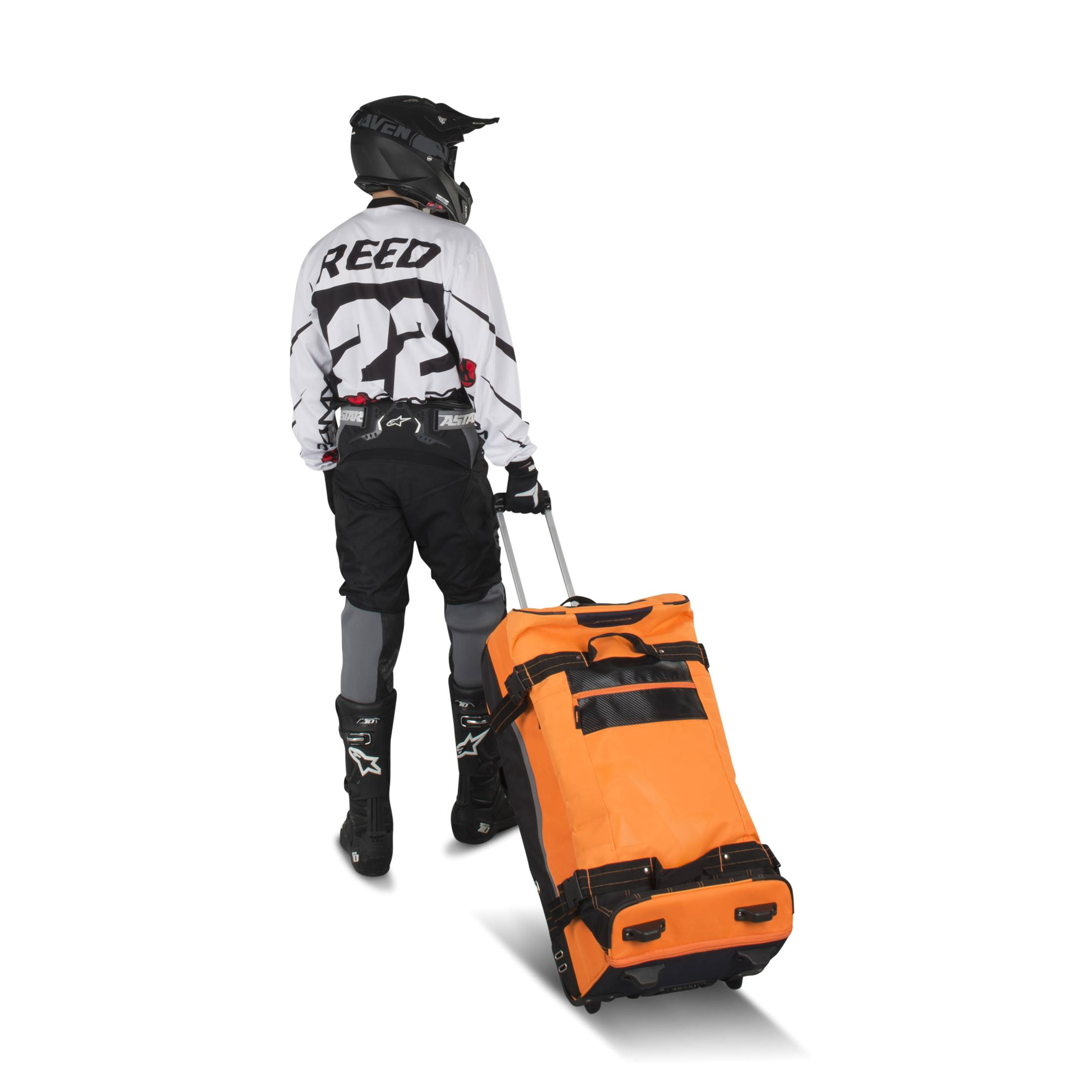 Acerbis Borsa  X-Trip GearBag 105 Litri Arancione