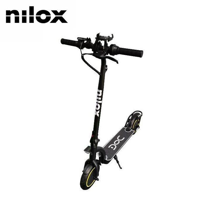 nilox monopattino elettrico doc 8five nero nxesdoc85bl