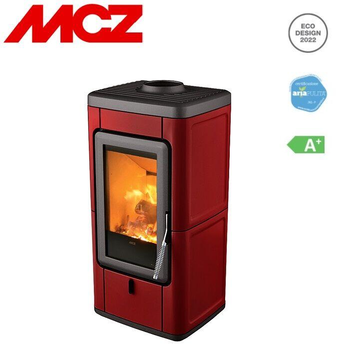 mcz stufa a legna ventilata mcz veld 7 kw disponibile in vari colori