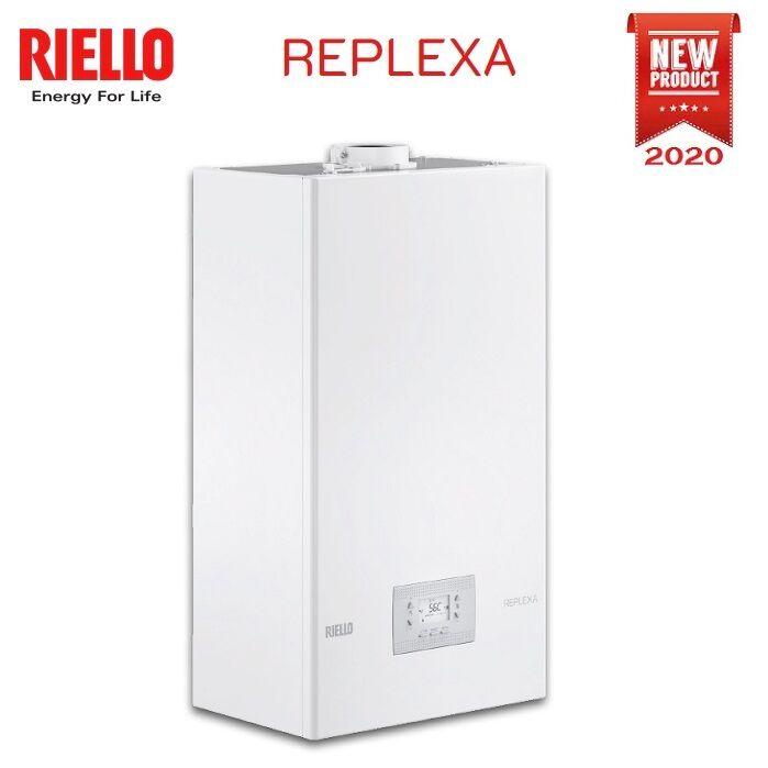 Riello Caldaia Riello Replexa 25 Is Solo Riscaldamento Metano A Condensazione Completa Di Kit Fumi - New 2020