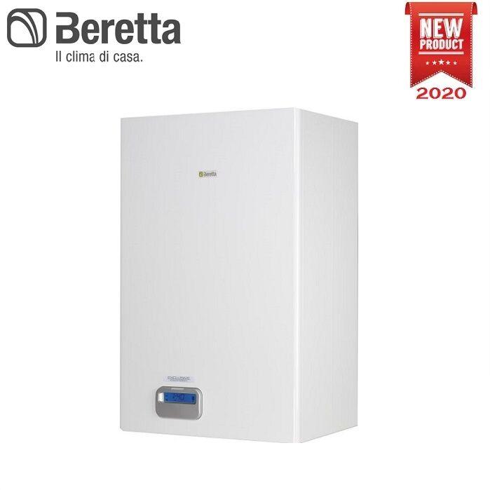 Beretta Caldaia A Condensazione Beretta Exclusive Boiler Green He 35 B.S.I. Con Bollitore Completa Di Kit Scarico Fumi - New 2020