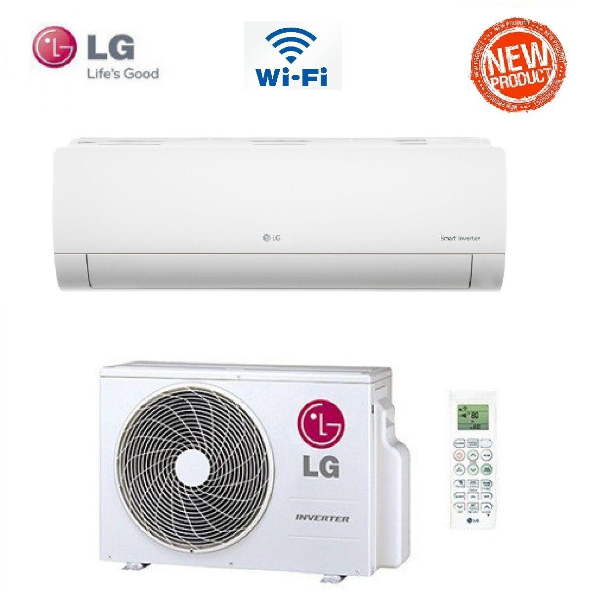 LG Climatizzatore Condizionatore Lg Libero Plus Inverter Wi-Fi 24000 Btu Classe A++/a Pm24sp- New 2017