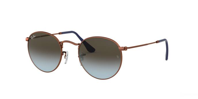 Ray-Ban Occhiale da Sole Ray Ban RB 3447 Round Metal (900396)