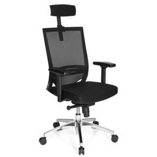 hjh sedia ergonomica carina max ii, in alluminio, regolabile, omologata 8h