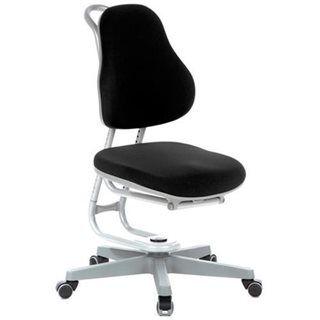 Hjh Sedia ergonomica per ragazzi BUGGY, alta qualità, sedile e schienale regolabili, colore nero
