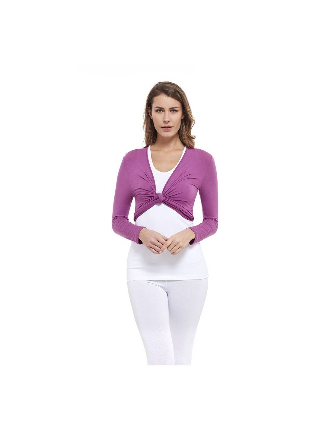 YOGAESSENTIAL SCALDACUORE Coprispalle - BAMBOO - Radiant Orchid