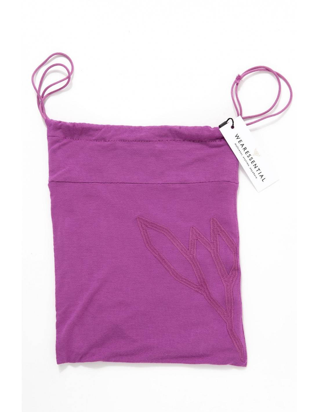 YOGAESSENTIAL POCHETTE YOGA MULTIUSO - BAMBOO - Radiant Orchid