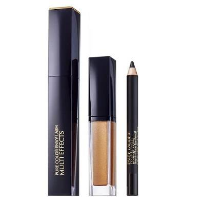 estee lauder custom lashes kit 3 looks : mascara - matita- ombretto
