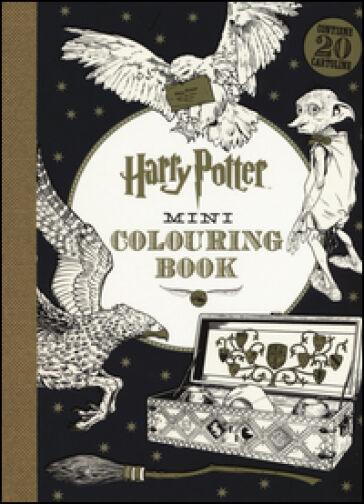 J. K. Rowling Harry Potter mini colouring book