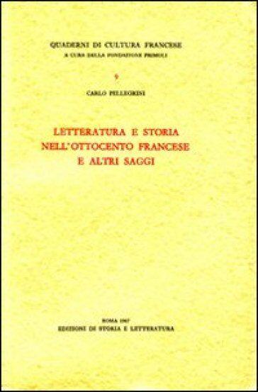 Carlo Pellegrini Letteratura e storia