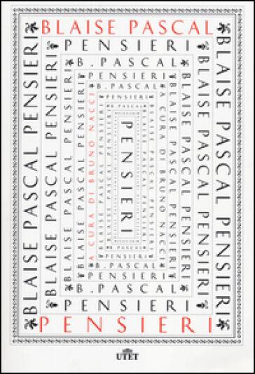 Blaise Pascal Pensieri ISBN:9788851125257