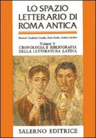 Lo spazio letterario di Roma antica.