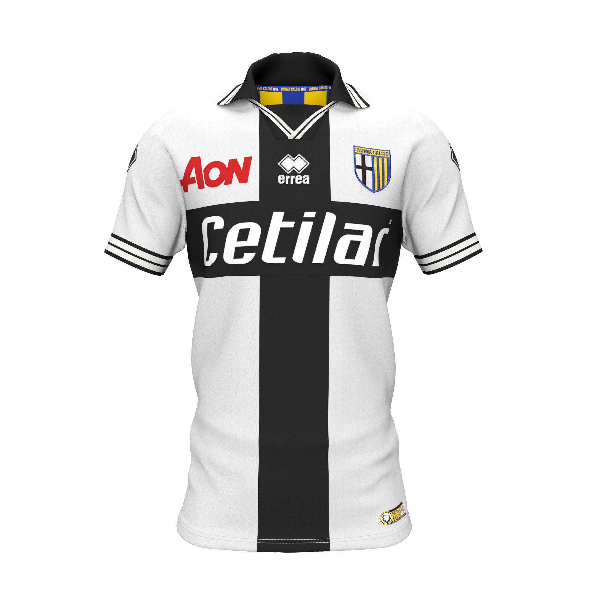 Errea Maglia Gara Home Parma 18/19