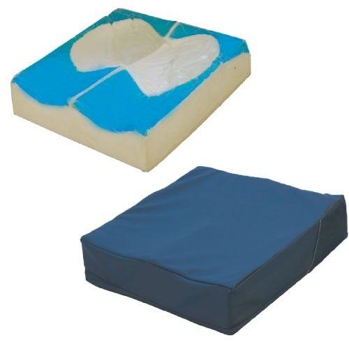 termigea cuscino con base anatomica preformata e fluido automodellante