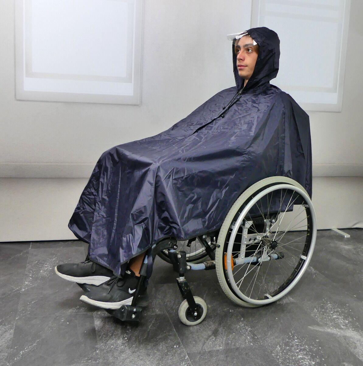 wellys parapioggia per sedia a rotelle