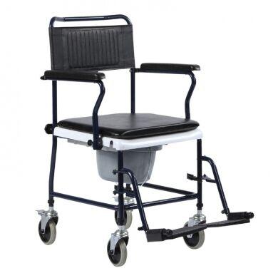 intermed sedia da comodo con ruote