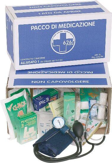 easyred pacco reintegro pronto soccorso dm n.388