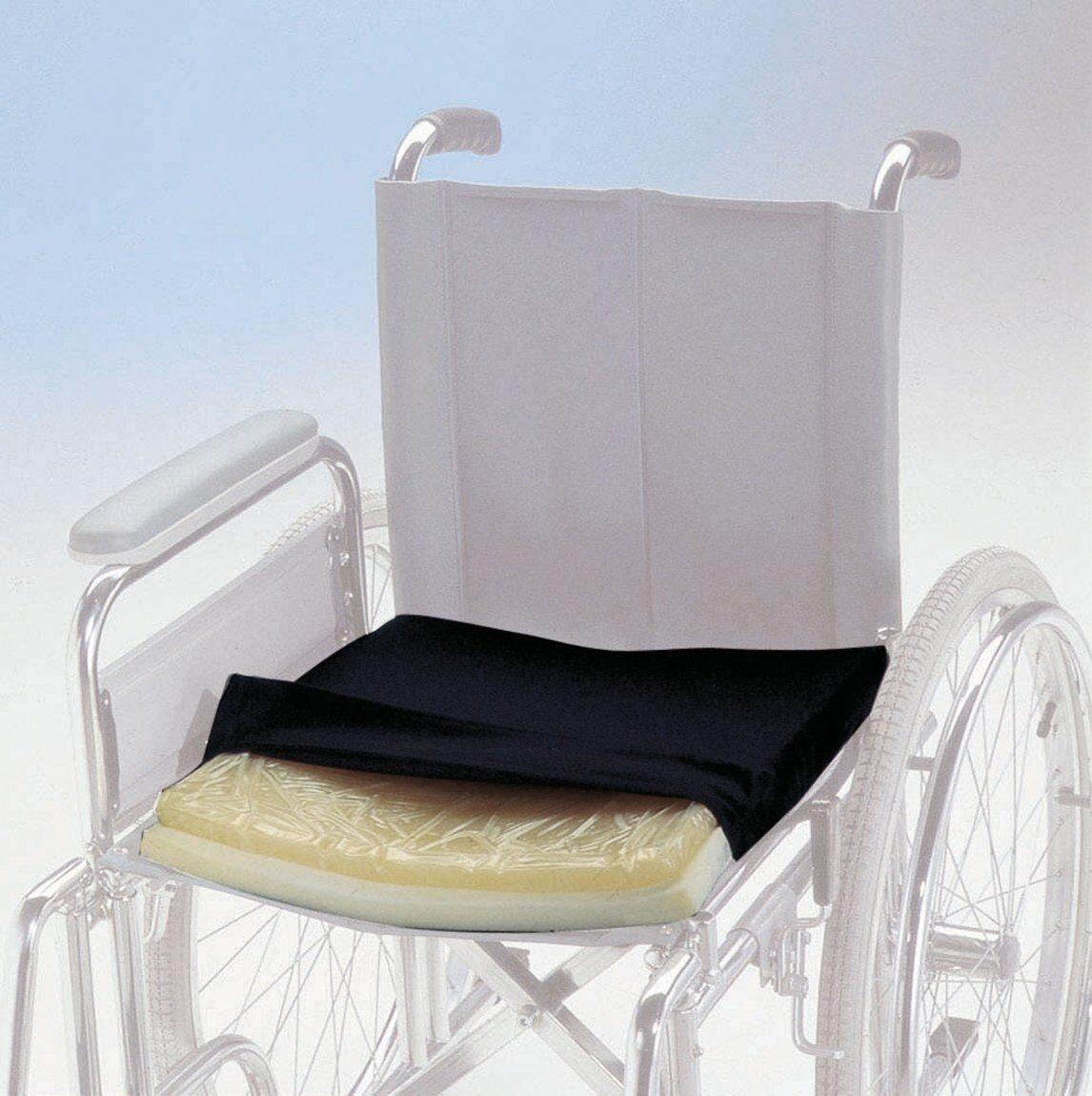 chinesport cuscino antidecubito in gel fluido per sedia a rotelle